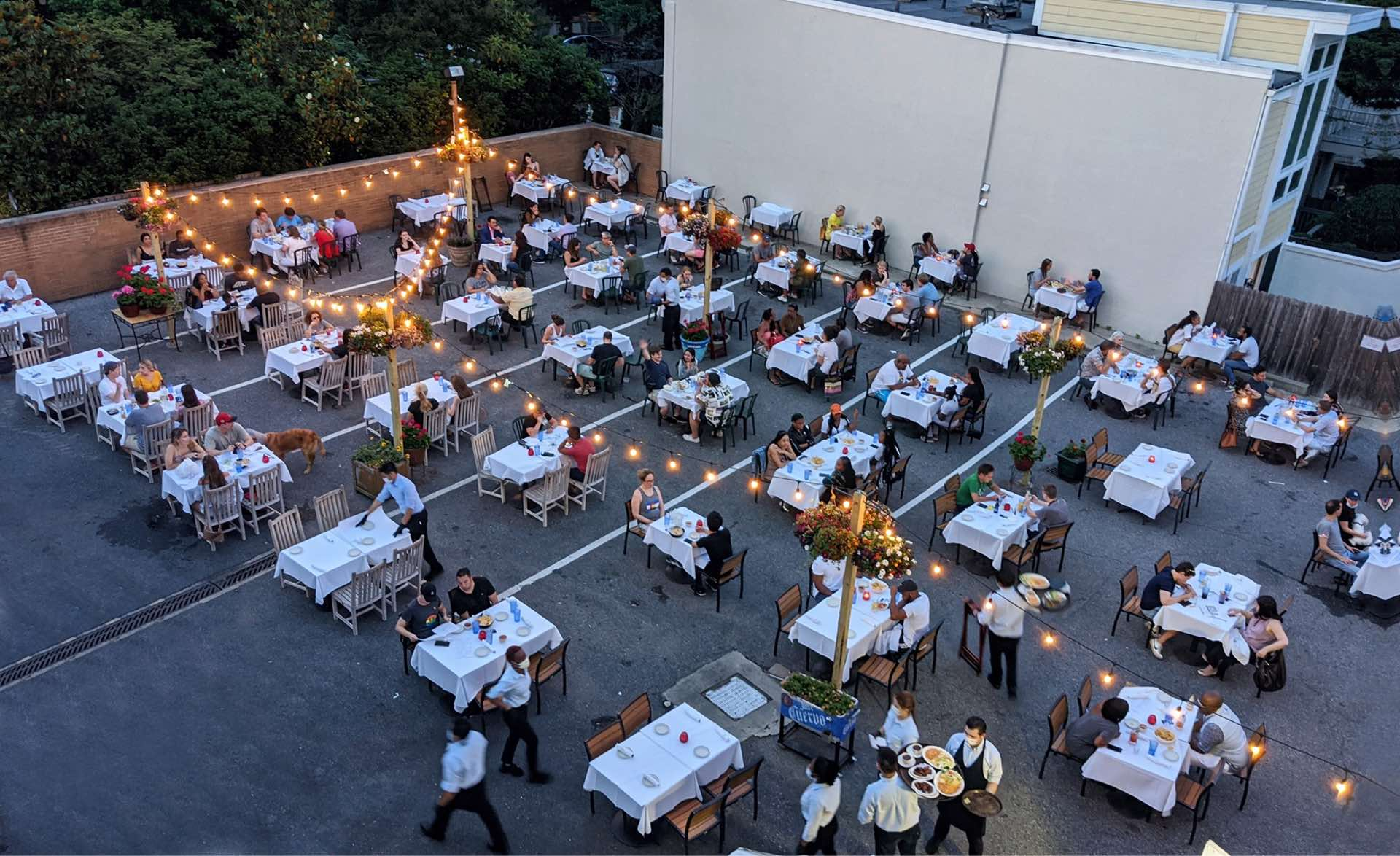 OPEN PATIOS IN DUPONT CIRCLE
